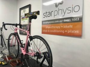 Star Physio Bikefit using Gebiomized Technology