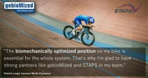 Star Physio uses the same technology for Bikefit as used by world champion triathlete Patrick Lange